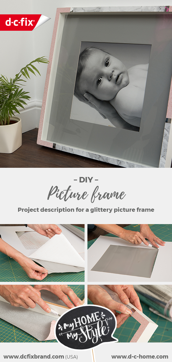 dcfix furniture adhesive film decorative film DIY decorative picture frame
