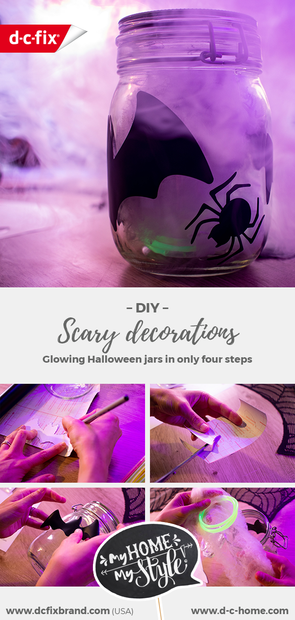 Dcfix Decoration Adhesive Foil Decoration Foil DIY Party Halloween Decoration