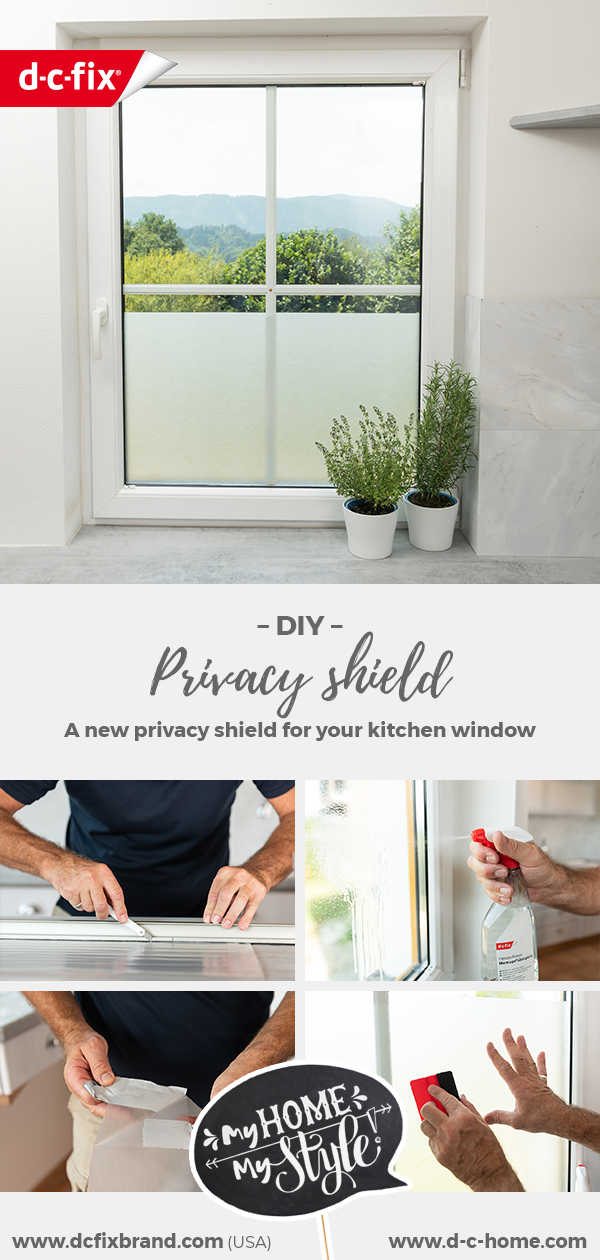 dcfix window window film DIY decoration kitchen mark kühler